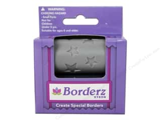 Clearance Blumenthal Favorite Findings: Xyron Creatopia Embossing Patternz Border Stars 1