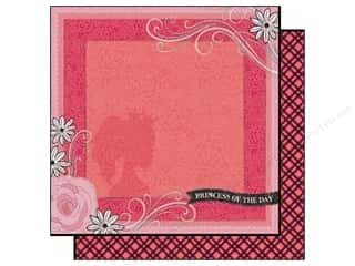 Black Cat Creations Flowers: Best Creation 12 x 12 in. Paper Sixteen Candles Collection Princess Of The Day (25 pieces)