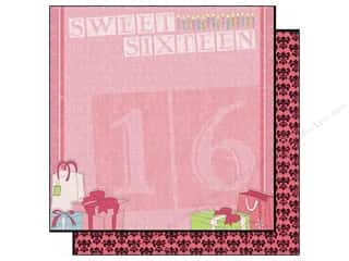 Clearance Best Creation Collection Kit: Best Creation 12 x 12 in. Paper Sixteen Candles Collection Ribbons & Bows (25 pieces)