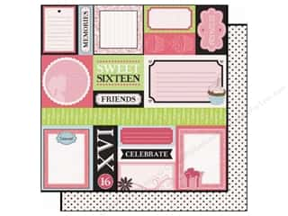 Best Creation Paper 12x12 Sixteen Candles Make Mem (25 piece)