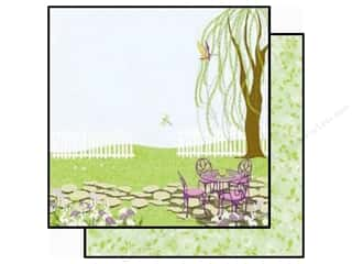 2013 Crafties - Best Adhesive: Best Creation 12 x 12 in. Paper Walk In The Garden Tea Time (25 piece)