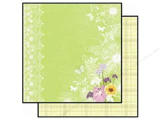 Best Creation Paper 12x12 Walk Garden ButtrfyLve (25 piece)