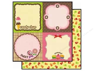 2013 Crafties - Best Adhesive: Best Creation 12 x 12 in. Paper Candy Shop Yum (25 piece)