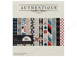 Authentique Paper Bundle 6 x 6 in. Celebrate 36pc