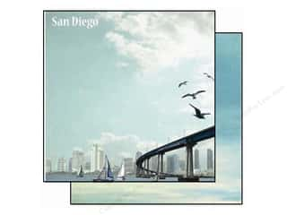 Best Creation 12 x 12 in. Paper USA San Diego (25 piece)