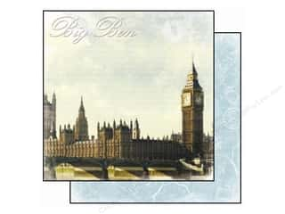 Best Creation 12 x 12 in. Paper Europe Big Ben (25 piece)