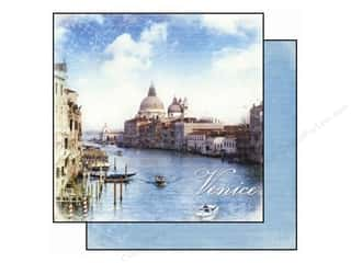 Clearance Best Creation Collection Kit: Best Creation Paper 12x12 Europe Venice (25 piece)