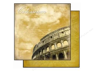 Clearance Best Creation Collection Kit: Best Creation 12 x 12 in. Paper Europe Colosseum (25 piece)