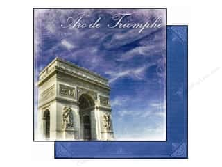 Best Creation 12 x 12 in. Paper Europe Arc De Triomphe (25 piece)