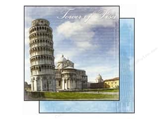 Best Creation 12 x 12 in. Paper Europe Tower Of Pisa (25 piece)