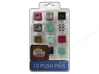 Board Dudes, The The Board Dudes Cork Bulletin Boards: The Board Dudes Push Pins 12 pc.