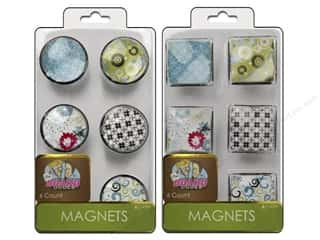 The Board Dudes Magnets Assorted 6pc