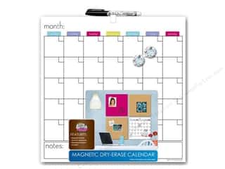 "Erasers 14"": The Board Dudes Dry Erase Calendar 14 x 14 in."