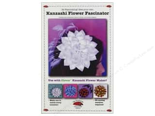Finishes Flowers: La Todera Kanzashi Flower Fascinator Pattern