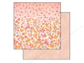 SEI Paper 12x12 Vanilla Sunshine Meringue Sunset (25 piece)