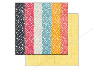 "SEI Clearance Crafts: SEI Paper 12""x 12"" Vanilla Sunshine Honey Bubbles (25 pieces)"