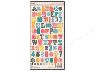 SEI Sticker Cardstock Vanilla Sunshine Alphabet
