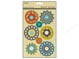 Spring Stickers: SEI Sticker Cardstock Desert Springs