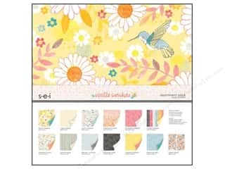 "SEI Assortment Pack 12""x 12"" Vanilla Sunshine"