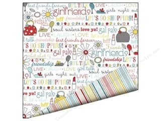Imaginisce Paper 12x12 Sole Sisters Chic Chat (25 piece)