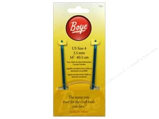 circular Knitting Needles: Boye Circular Knitting Needles Aluminum 16 in. Size 4
