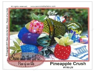 Fruit & Vegetables Dritz Pin Cushion: Sewn Into The Fabric Pineapple Crush Pattern