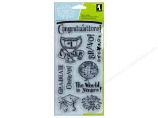 Inkadinkado Clear Stamp Congratulations