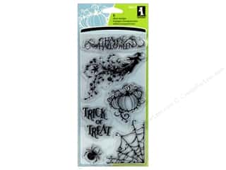 Inkadinkado Clear Stamp All Hallows Eve