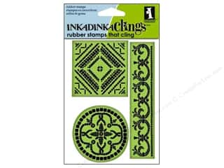 Inkadinkado InkadinkaClings Rubber Stamp Large Mosaics