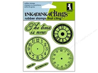 Inkadinkado Stamp Inkadinkaclings Nothing But Time