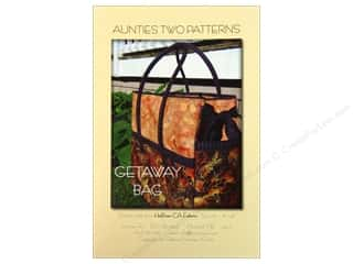 Aunties Two Quilt Patterns: Aunties Two Getaway Bag Pattern