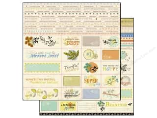 "Spring Family: SEI Paper 12""x 12"" Desert Springs Perforated Sheet (25 pieces)"