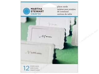 Martha Stewart Party Supplies PlaceCards Flourish