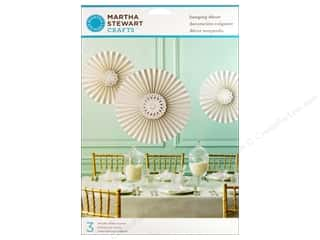 Martha Stewart Decorative Hang Rosettes Doily Lace