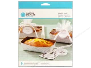 Baking Wraps / Cupcake Wrappers: Martha Stewart Food Packaging Loaf Tray Doily Lace