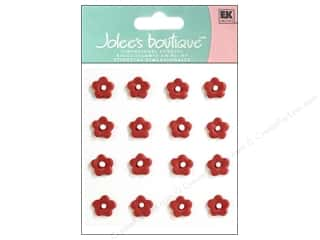 fine $5 - $16: Jolee's Boutique Stickers Confection Icing Flower Mini Red and White