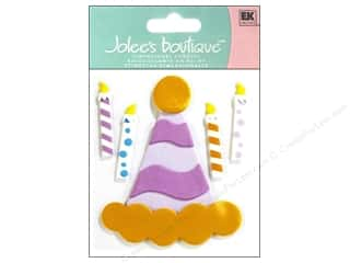 Jolee's Boutique Stickers Confection Fondant Party Hat