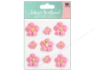 Flowers paper dimensions: Jolee's Boutique Stickers Confection Icing Flower Small  and Large Pink