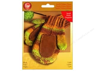 Gloves Clearance Crafts: Boye Suede Mitten Palms Small Black
