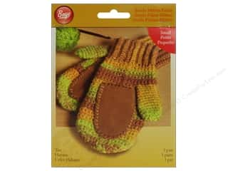 Gloves Clearance Crafts: Boye Suede Mitten Palms Small Tan