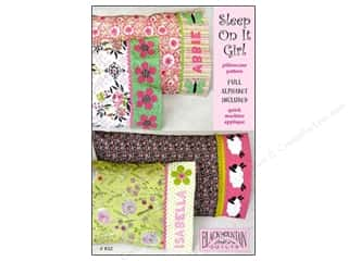 Patterns ABC & 123: Black Mountain Quilts Sleep On It Girl Pillowcase Pattern