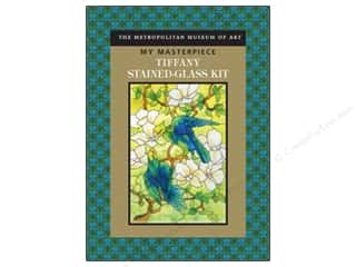Crafting Kits Chronicle Books: Sterling Kit My Masterpiece Tiffany Stained-Glass