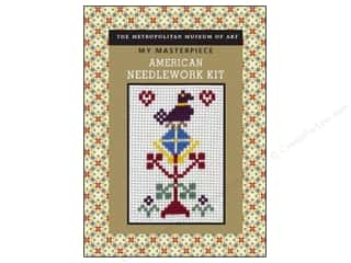 Cross Stitch Cloth / Aida Cloth Aida Pre Finished Items: Sterling Kit My Masterpiece American Needlework
