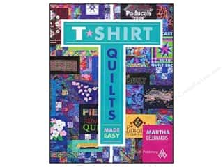 Quilting Made Easy $12 - $15: American Quilter's Society T-Shirt Quilts Made Easy Book by Martha Deleonardis