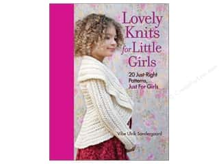 Taunton Press Crochet & Knit: Taunton Press Lovely Knits For Little Girls Book