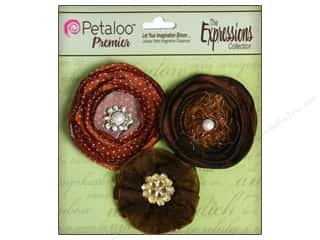 Sequins Black: Petaloo Expressions Collection Flowers Chocolate 3pc