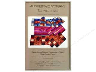 Table Runners / Kitchen Linen Patterns: Table Attire 3 Ways Pattern