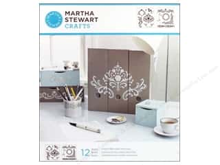 Martha Stewart Crafts Martha Stewart Stencil by Plaid: Martha Stewart Stencils by Plaid Flourish Medium