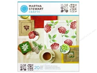 Martha Stewart Crafts Martha Stewart Stencil by Plaid: Martha Stewart Stencils by Plaid Four Seasons Medium