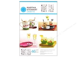 Martha Stewart Crafts Fall / Thanksgiving: Martha Stewart Stencils by Plaid Adhesive Holiday Icons II